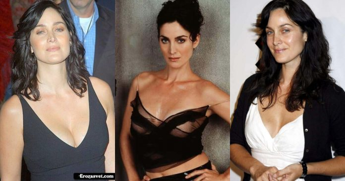 61 Sexy Pictures Of Carrie-Anne Moss Demonstrate That She Is A Gifted Individual
