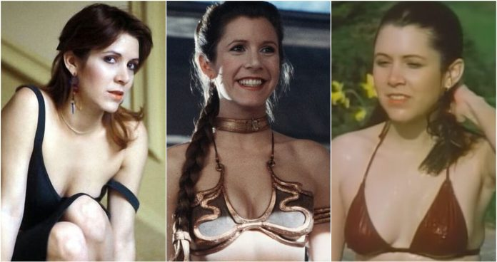 61 Sexy Pictures Of Carrie Fisher Are Truly Astonishing
