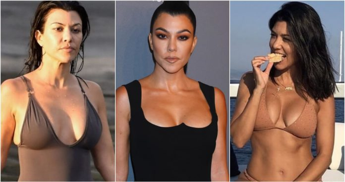 61 Sexy Pictures Of Kourtney Kardashian Are An Appeal For Her Fans