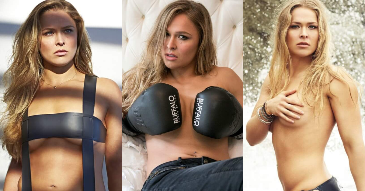 61 Sexy Pictures Of Ronda Rousey Which Are Inconceivably Beguiling