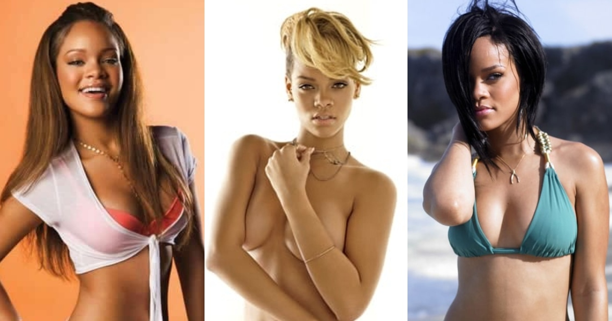 61 Sexy Rihanna Boobs Pictures Reveal Her Lofty And Attractive Physique