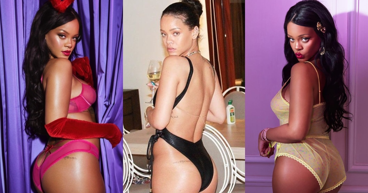 61 Sexy Rihanna Booty Pictures Exhibit Her As A Skilled Performer