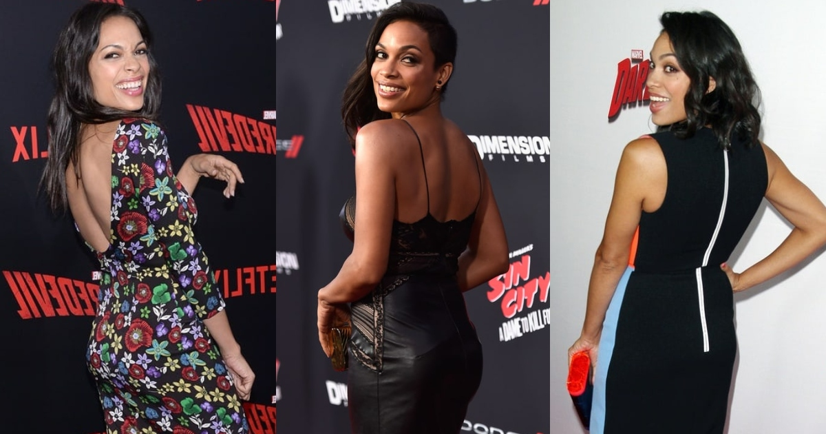61 Sexy Rosario Dawson Booty Pictures Which Will Leave You To Awe In Astonishment
