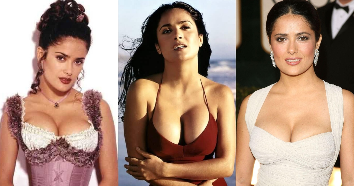 61 Sexy Salma Hayek Boobs Pictures Are Going To Perk You Up