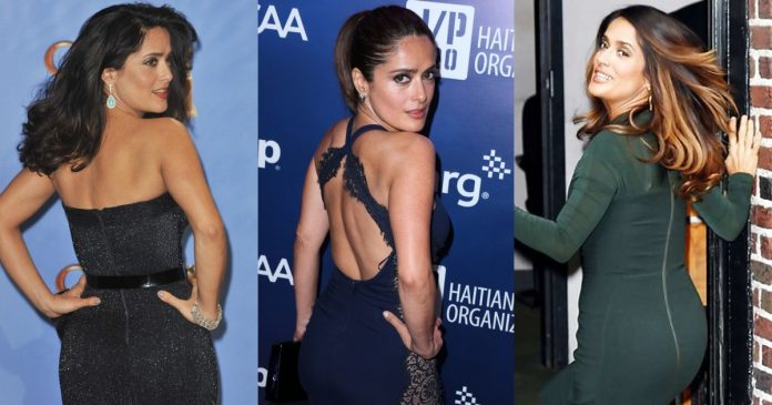 61 Sexy Salma Hayek Booty Pictures Which Will Captivate You With Her Alluring Body