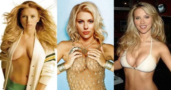 61 Sexy Scarlett Johansson Boobs Pictures Will Drive You Wildly Enchanted With This Dashing Damsel