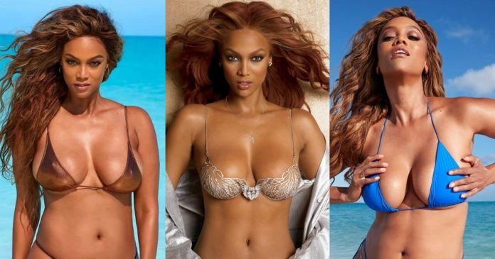 61 Sexy Tyra Banks Boobs Pictures Will Heat Up Your Blood With Fire And Energy For This Sexy Diva