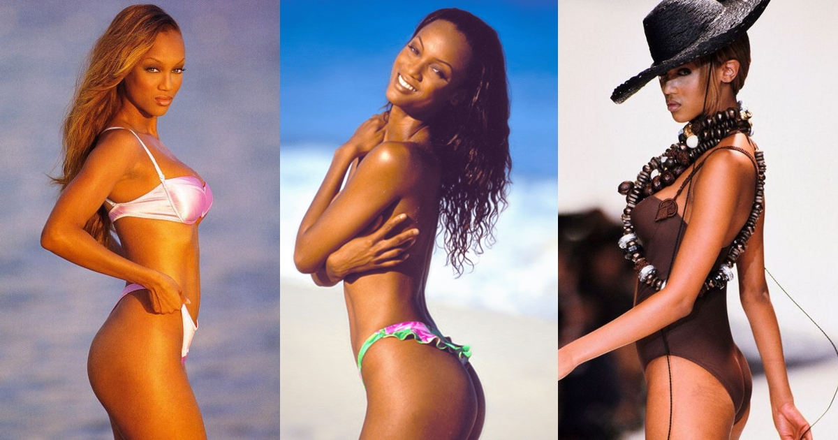 61 Sexy Tyra Banks Booty Pictures Showcase Her As A Capable Entertainer