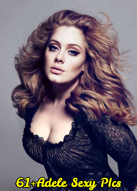 Adele-hot-cleavages