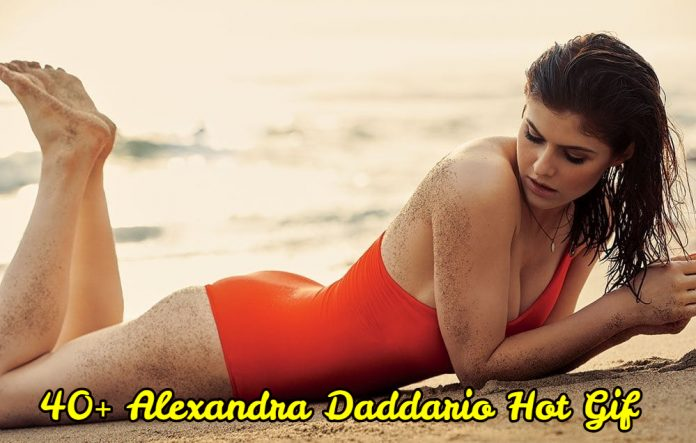 43 Hot Gif Of Alexandra Daddario Which Demonstrate She Is The Hottest Lady On Earth