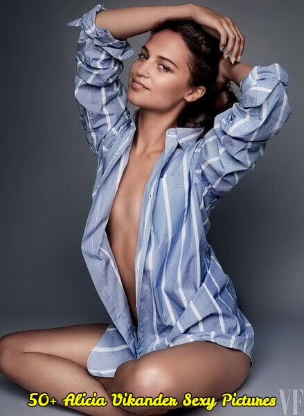 Alicia Vikander sexy
