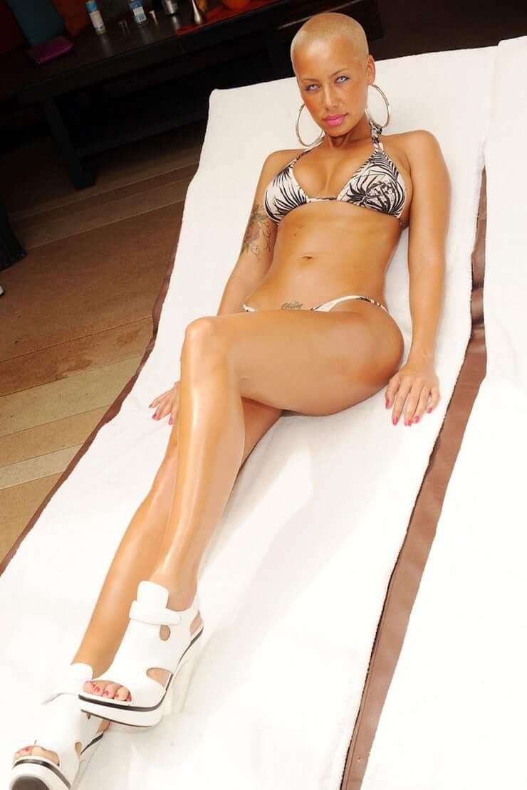 Amber Rose hot legs