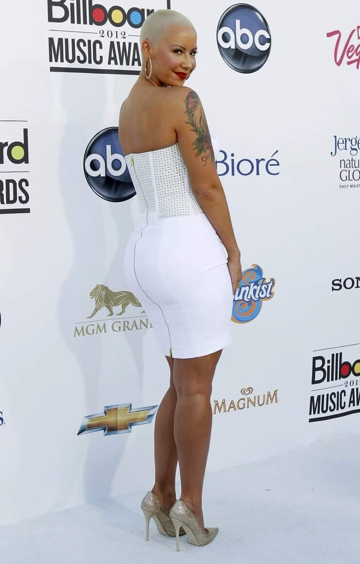 Amber Rose sexy ass pics