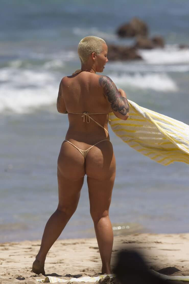 Amber Rose sexy booty pics