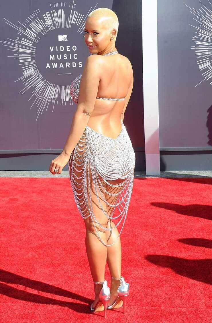 Amber Rose sexy butt (2)