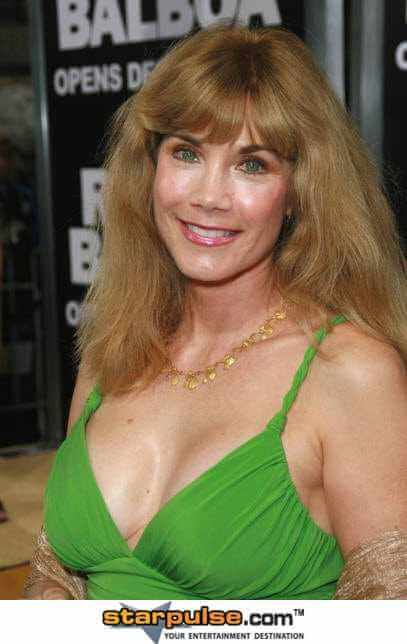 Barbi Benton sexy cleavage