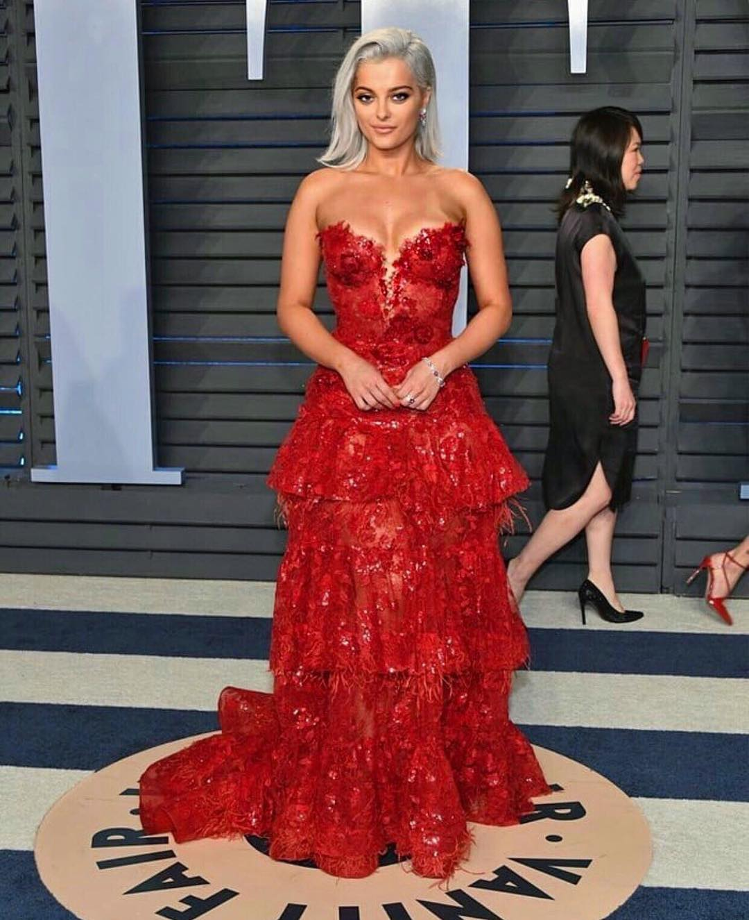 Bebe-Rexha-awesome-hot-dress