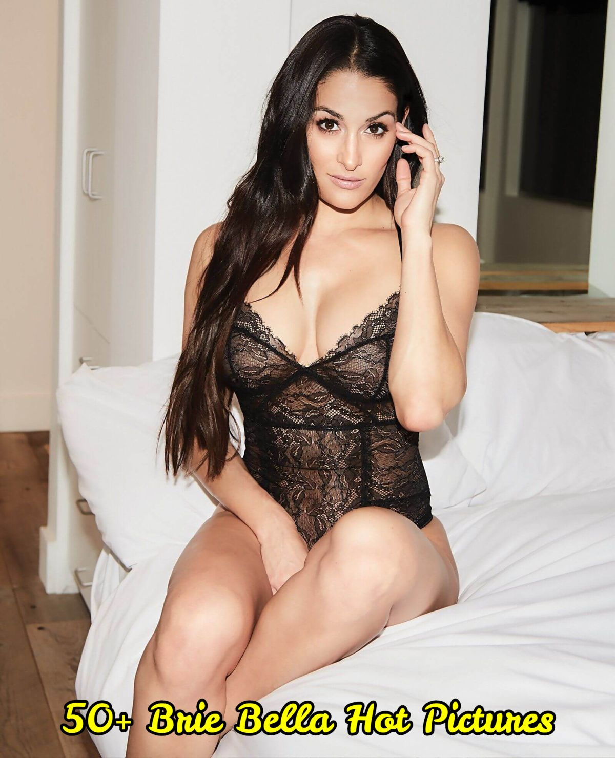 Brie Bella sexy look pic
