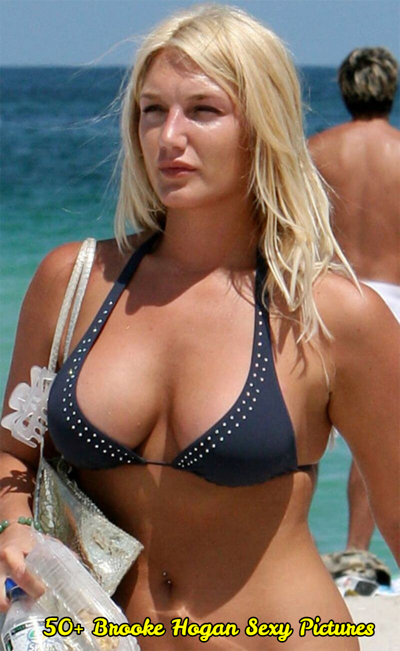 Brooke Hogan hot cleavage pictures