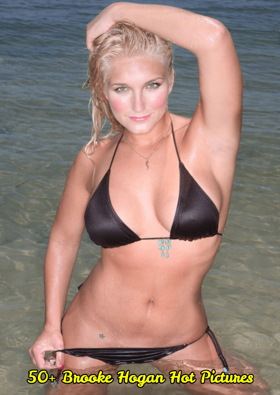 Brooke Hogan sexy look