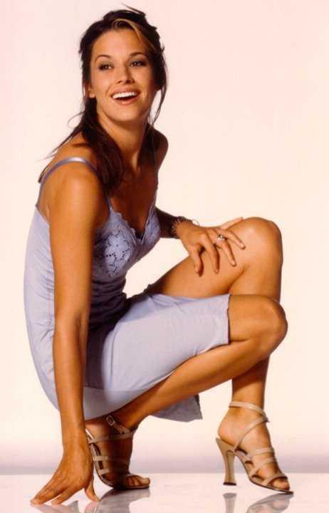 Brooke Langton feet high heels