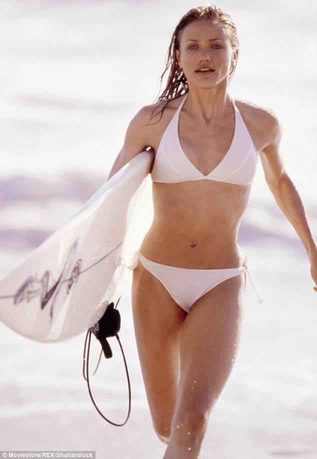 Cameron Diaz sexy lingerie picture