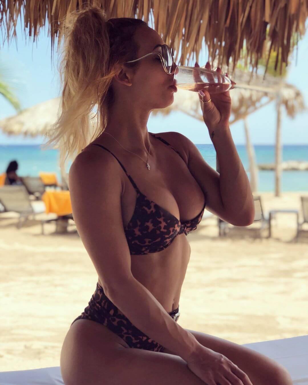 Carmella sexy bikini pic