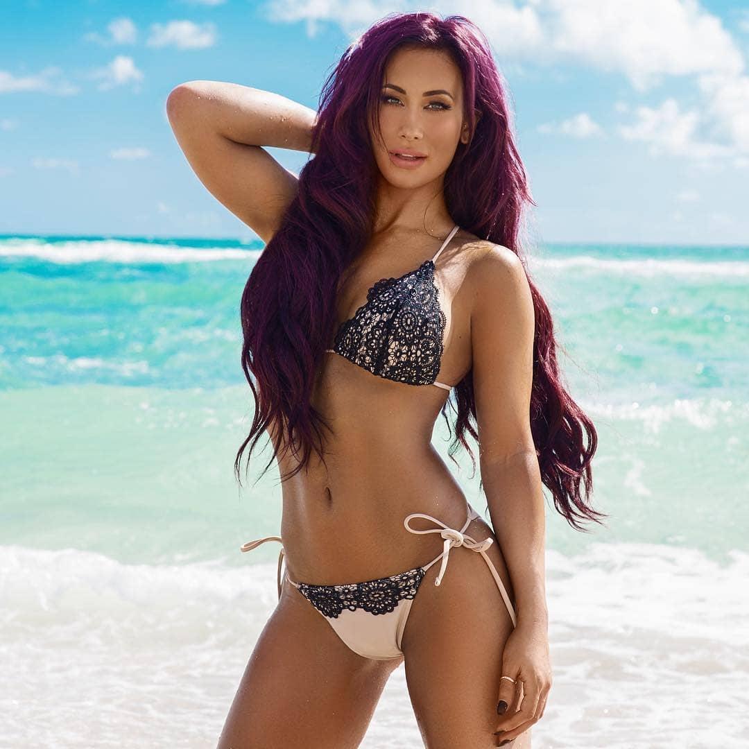 Carmella sexy bikini pics