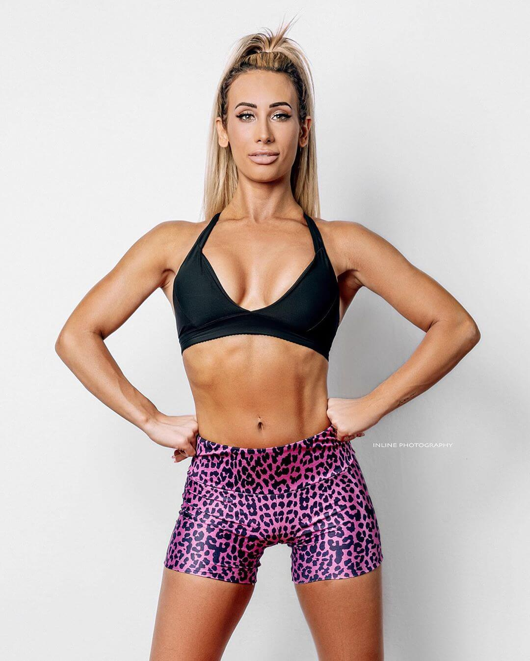 Carmella sexy boobs