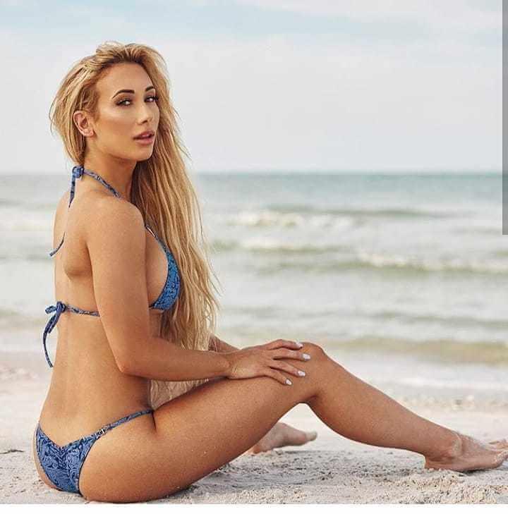 Carmella sexy side pics