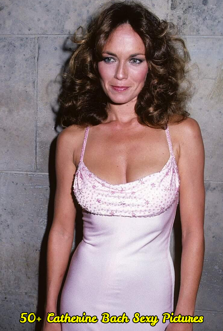 Catherine Bach cleavage pic