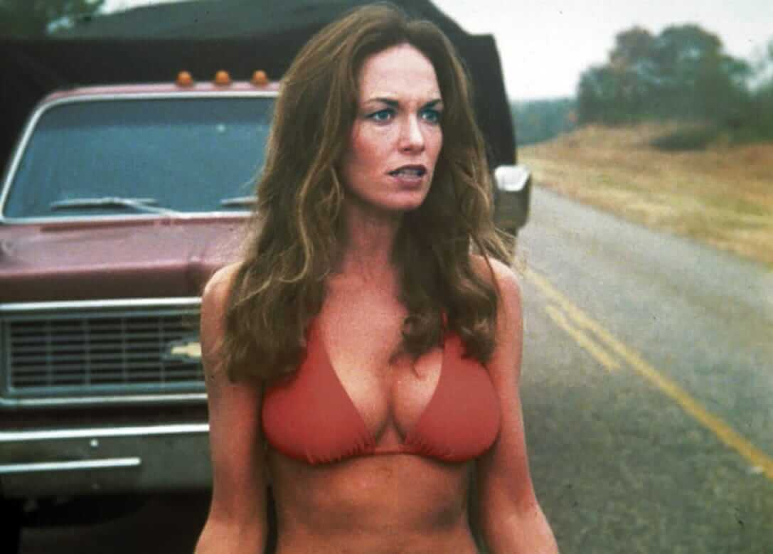 Catherine Bach hot cleavage pic