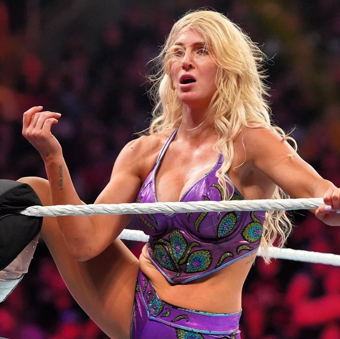 Charlotte Flair hot bikini