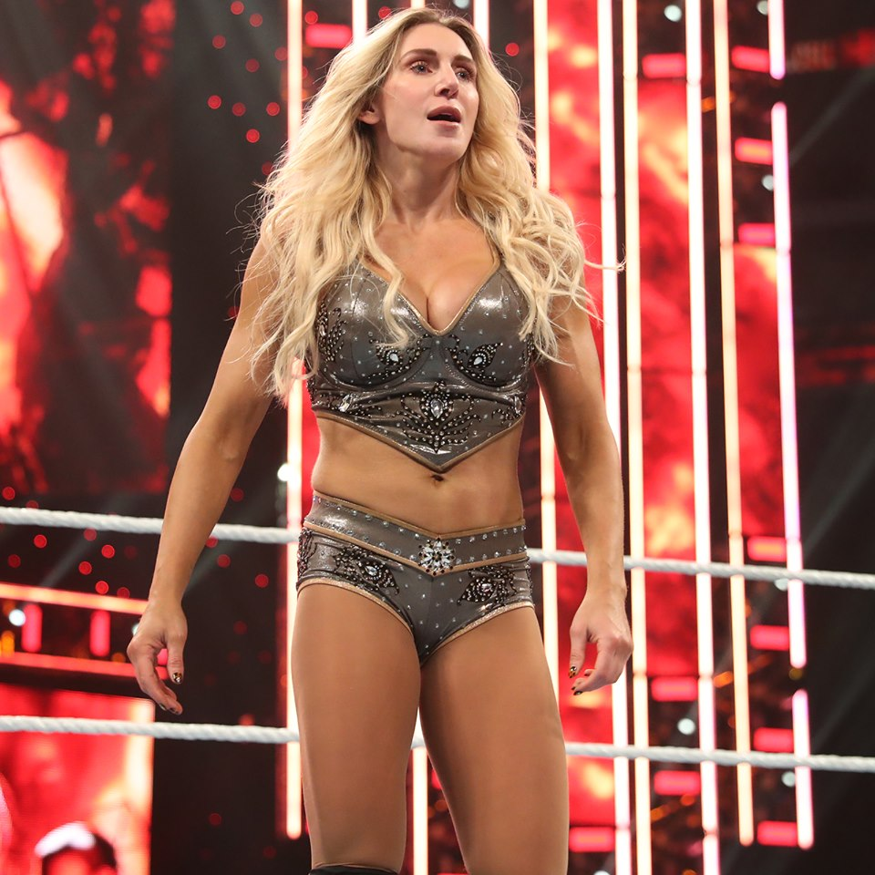 Charlotte Flair sexy busty pics
