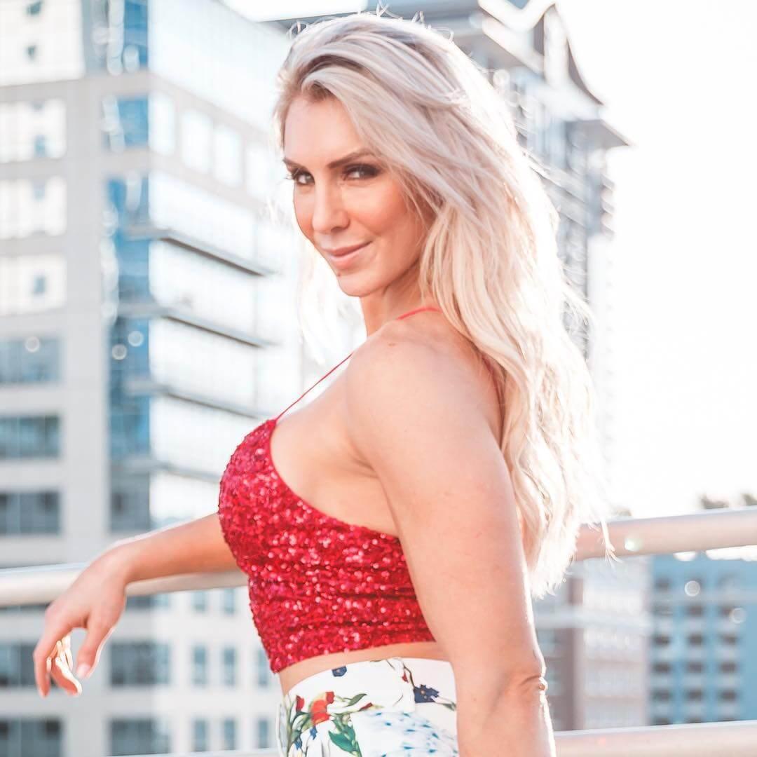 Charlotte Flair sexy side pics