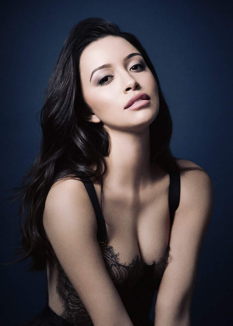 Christian Serratos cleavage pictures