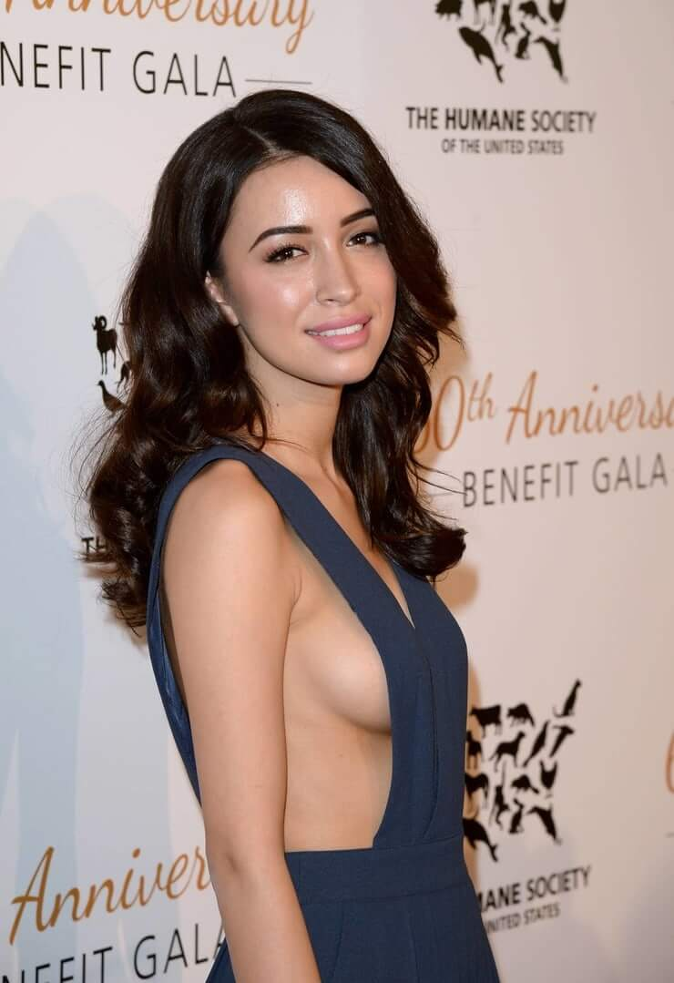 Christian Serratos side boobs pictures