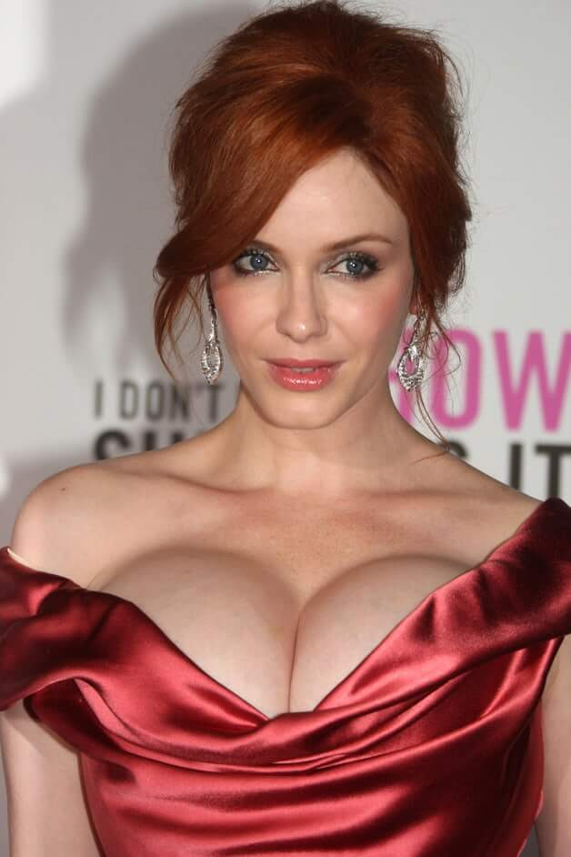 Christina Hendricks hot busty pictures