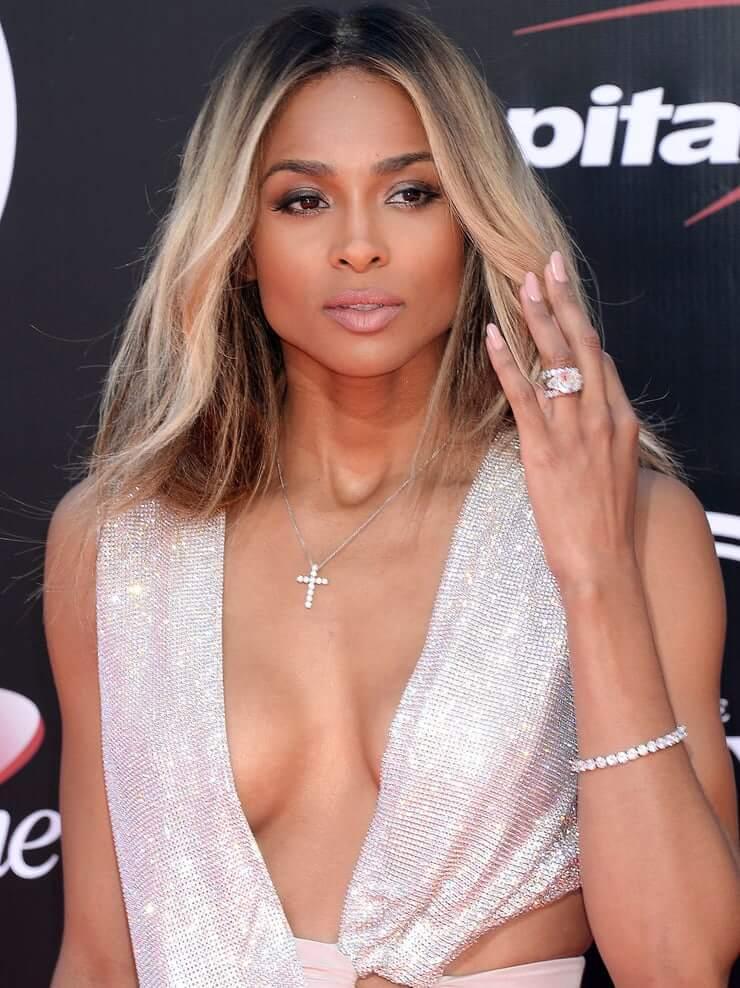 Ciara sexy cleavage
