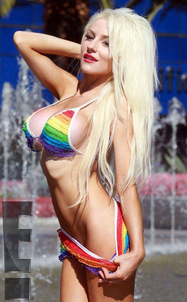 Courtney Stodden sexy side pics