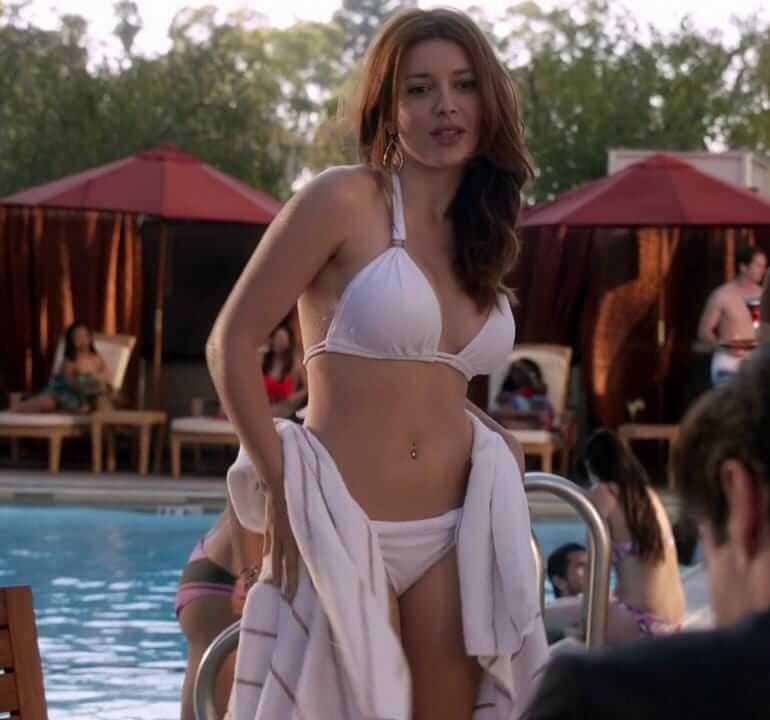 Elena Satine sexy navel pic