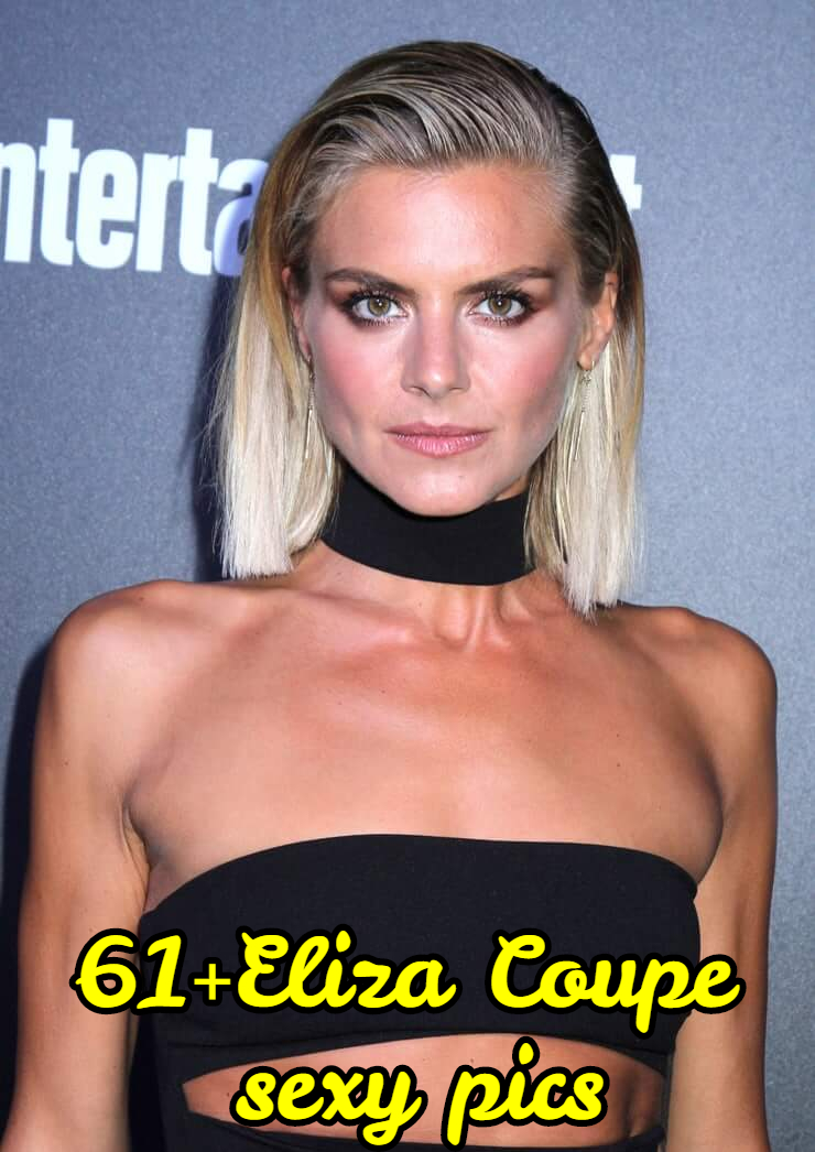 Eliza Coupe hot cleavage (1)