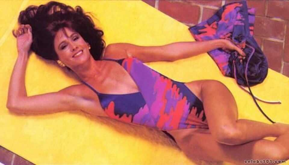 Erin Gray sexy thighs