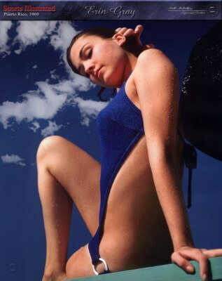 Erin Gray swimsuit
