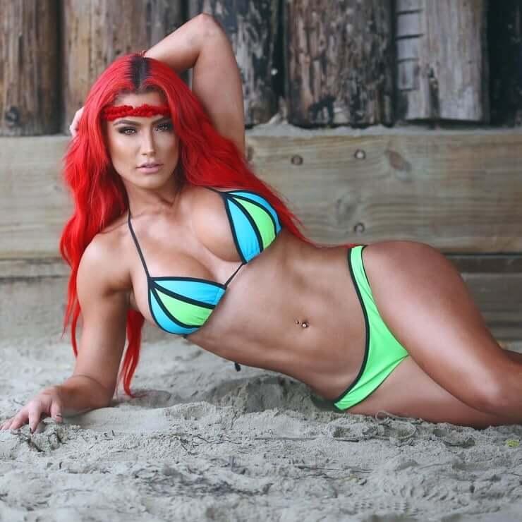 Eva Marie hot bikini pics (2)