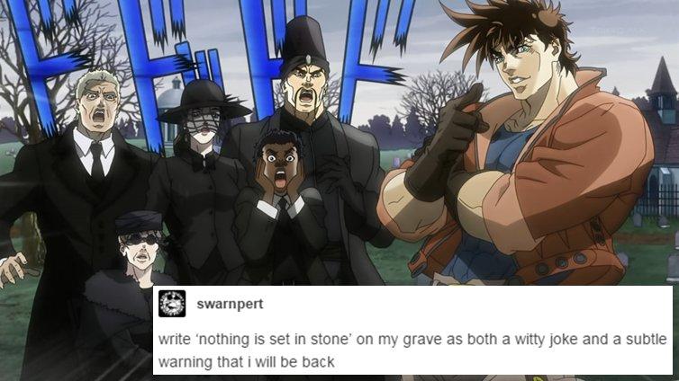Funny JoJo's Bizarre Adventure memes