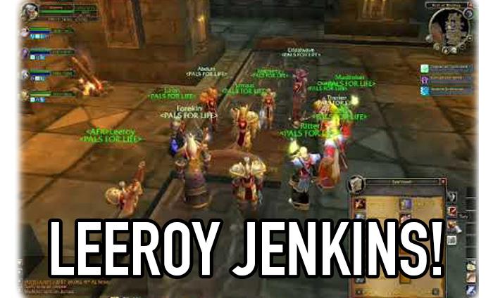 Funny Leeroy Jenkins memes
