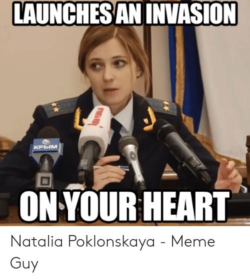 Funny Natalia Poklonskaya memes