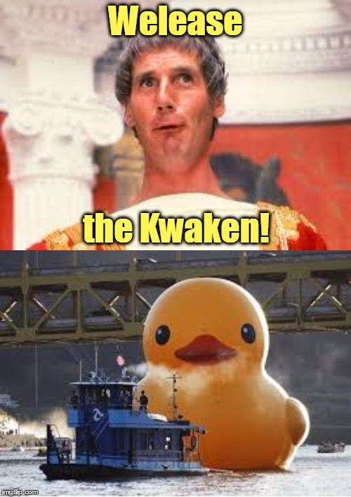 Funny Release The Kraken! memes