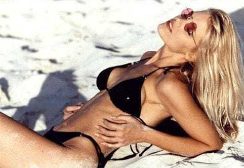 Gena Lee Nolin black bikini